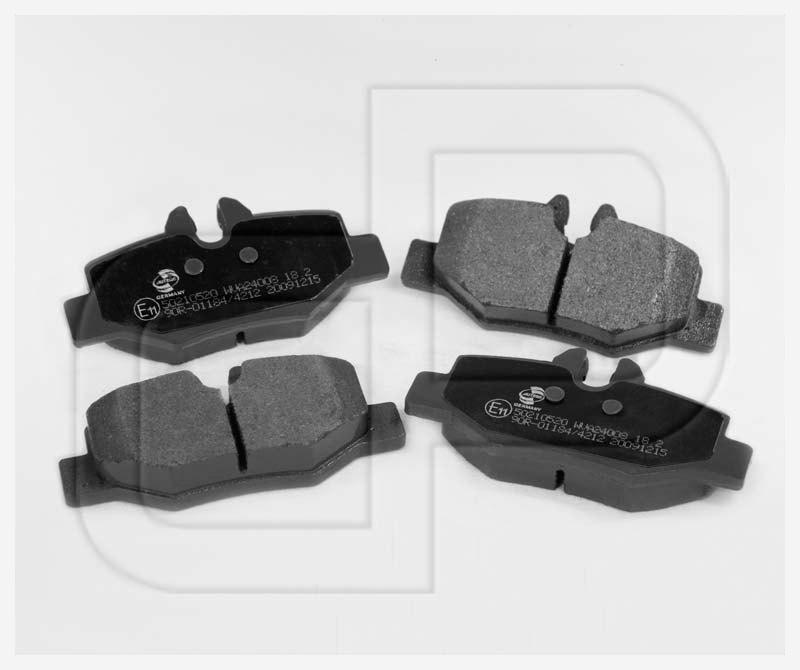bremsbel ge bremskl tze mercedes vito viano w639 hinten. Black Bedroom Furniture Sets. Home Design Ideas